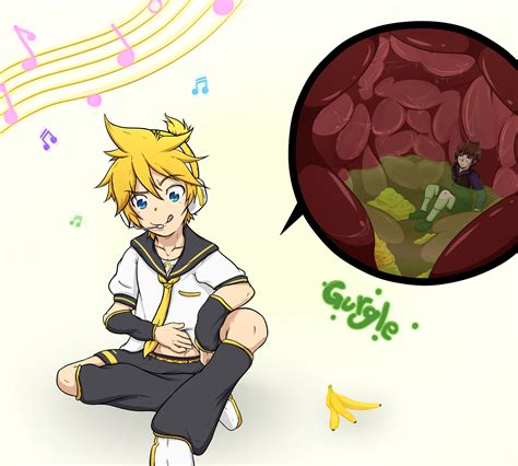 anime vire boy g4 len s new diet by michat