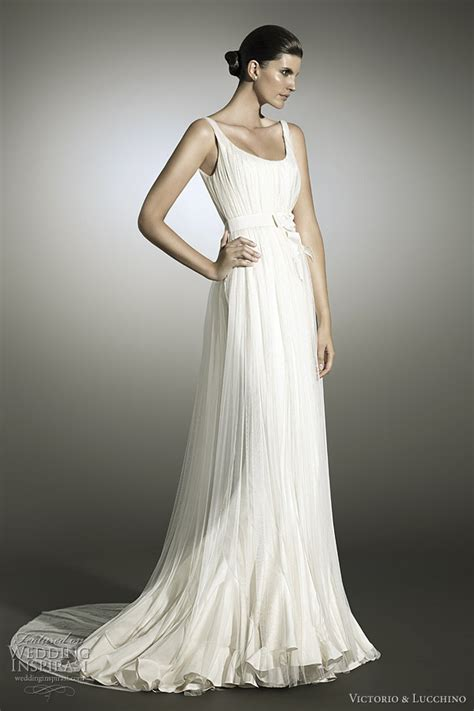 grecian style wedding dresses victorio and lucchino