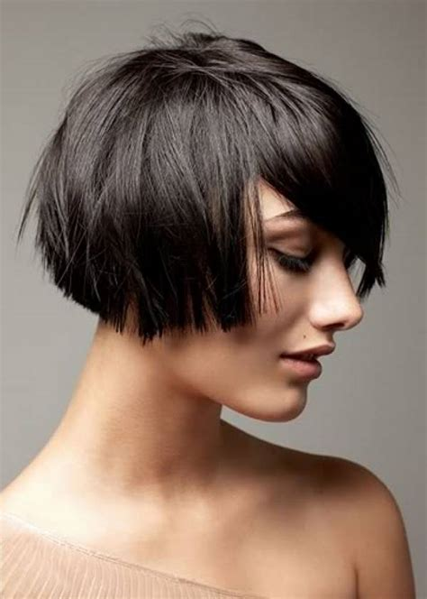 textured bob hairstyle photos textured inverted bob short layered haircuts