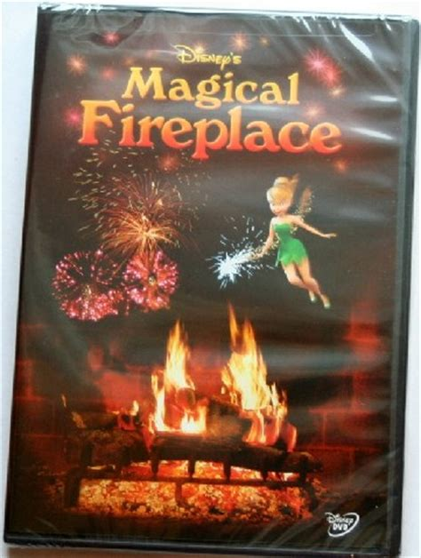 Disney Magical Fireplace Dvd by Disney S Magical Fireplace Yule Log Filled With