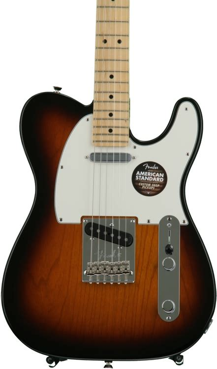 Fender American Standard Tele Maple 2 Color Sunbur fender american standard telecaster 2 color sunburst