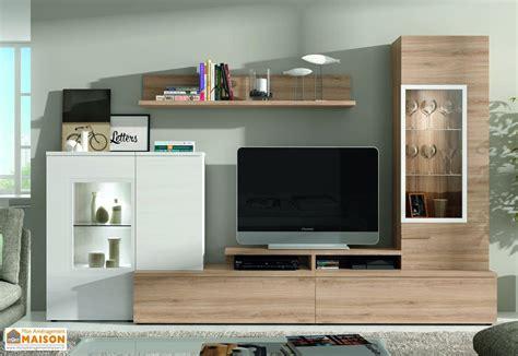meubles tv ensemble meuble tv mural dublin 2 coloris ramis