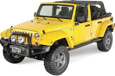 Jeep Wrangler Unlimited Side Steps Mopar 174 82210562ad Tubular Side Steps In Satin Black For 07
