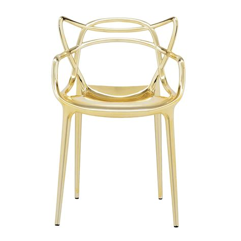 sedie cartell kartell masters metallic chair buy today utility