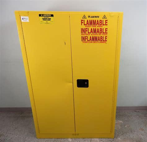 justrite flammable storage cabinet justrite 45 gallon flammable storage cabinet
