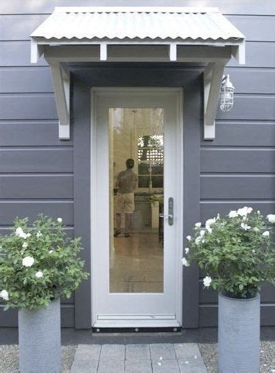 back door awnings 25 best ideas about porch roof on porch cover
