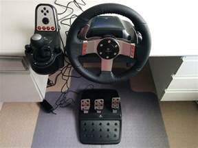 Steering Wheel G27 Review Logitech G27 Racing Wheel Nz Techblog