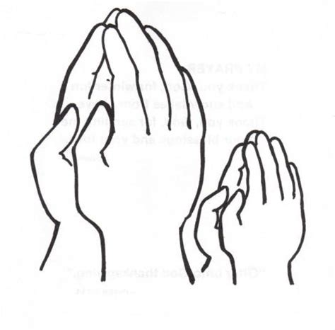 coloring page of praying hands patterns and color sheets oak grove missionary baptist