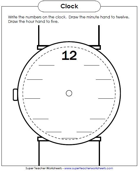 clock worksheets ks1 new worksheet write the numbers on the clock face maybe
