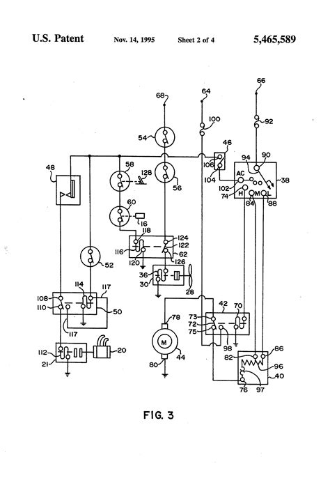 eagle international wiring diagram for blower motor patent us5465589 idle automated a c system google patents
