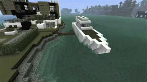 how to make a boat house in minecraft minecraft boat tutorial youtube