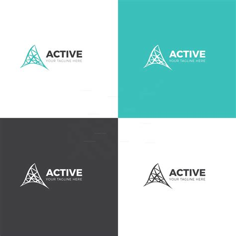 Active Corporate Logo Design Template 001711 Template Catalog Logo Design Templates