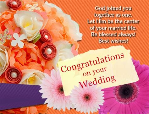 Wedding Wishes Message by Wedding Congratulation Sms Congratulations On Your Success