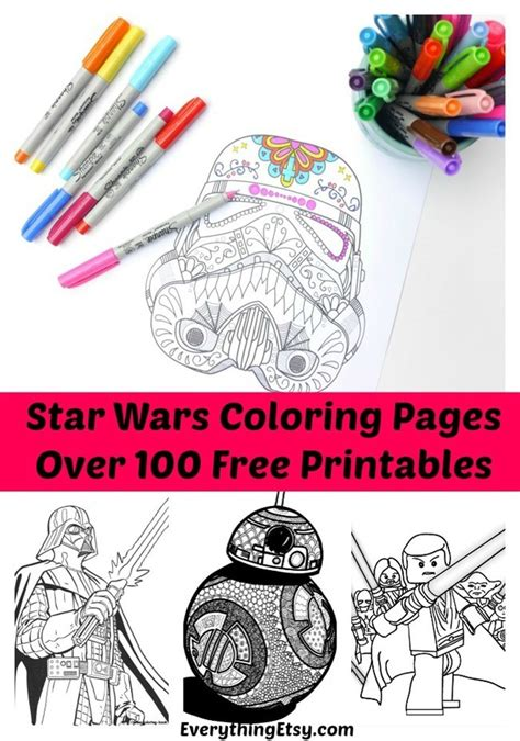 printable star wars designs printable coloring pages for adults 15 free designs