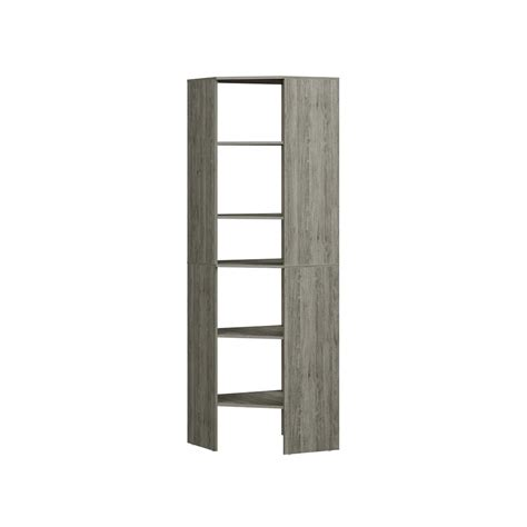 Closetmaid Corner Shelf Closetmaid Style 25 In D X 25 In W X 82 In H Coastal