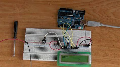 tutorial arduino display lcd arduino tutorial 06 display lcd 16x2 youtube