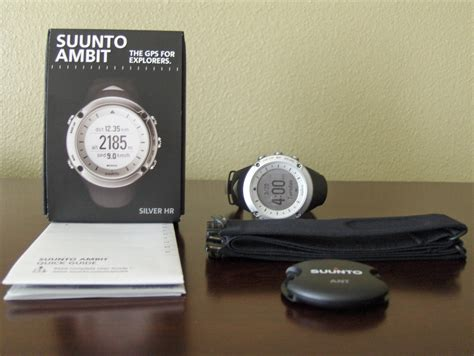 Suunto Ambit Silver Hr suunto ambit gps review trail runner nation