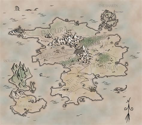 themes for a fantasy story map inspiration idea for how to design a world map