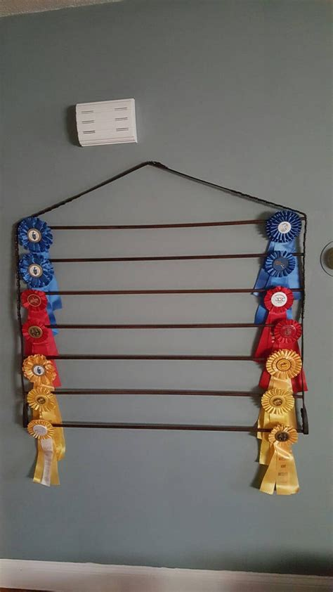 Show Ribbon Rack by High Capacity Show Equestrian Ribbon Holder Display Rack