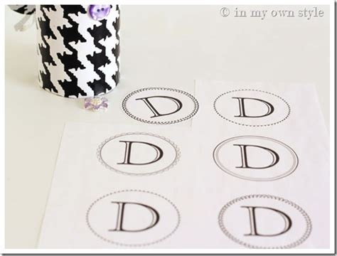 printable letters martha stewart gift box idea recycle a ribbon spool in my own style