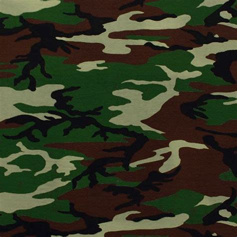 army pattern green army camo cotton spandex knit fabric army green brown