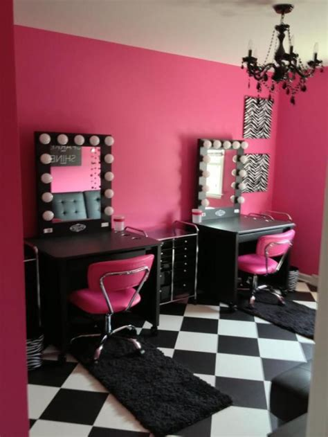 Vanity Room Salon a supermom builds a vanity room for