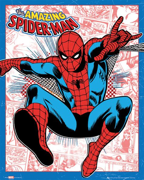 printable spiderman poster new marvel posters prints and merchandise from gb eye