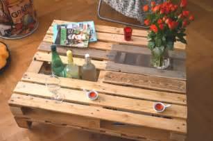 table de jardin avec palette en bois jsscene des