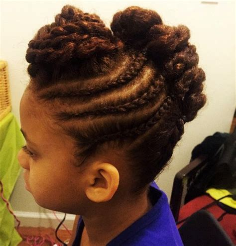 rubber band mohawk with beads hairstyle 40 cool hairstyles for little girls cheap little girls