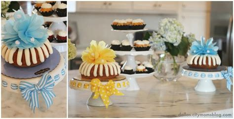 Nothing Bundt Cakes Baby Shower by The Baby Shower Treat Nothing Bundt Cakes