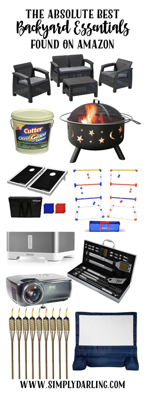 backyard essentials the absolute best backyard essentials found on amazon