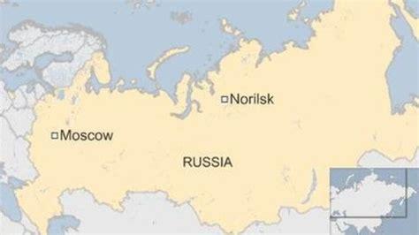 norilsk russia maps maji ya mto yageuka rangi ya damu urusi kamera yangu