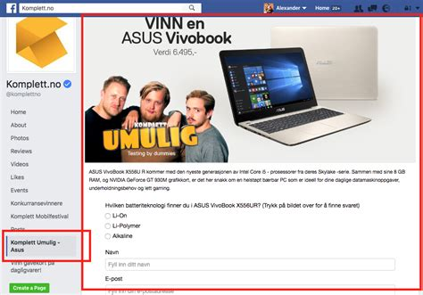 Facebook Giveaway Tab - new facebook page design and the return of the facebook tab app