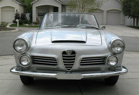 alfa romeo classic for sale 1964 alfa romeo 2600 spider classic italian cars for sale