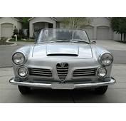 1964 Alfa Romeo 2600 Spider  Classic Italian Cars For Sale