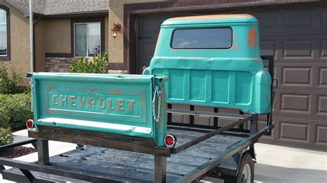truck bed beds tailgate customs queen size 1958 chevrolet pickup truck