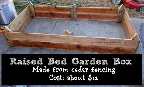 Build Raised Beds from Cedar Fencing   PreparednessMama