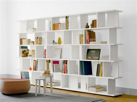 open libreria open sectional solid wood bookcase arie by e15 design arik