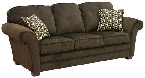 fabric loveseats chocolate polyester fabric modern sofa loveseat set w