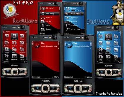 install themes nokia e71 nokia e71 blog for fanatics e71 theme red blue wave by