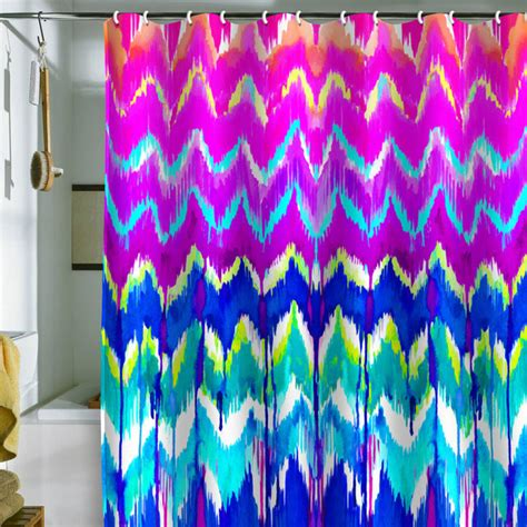 eclectic shower curtains holly sharpe summer dreaming shower curtain eclectic