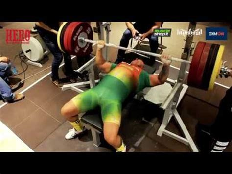 superhero bench press hero ironvytas bench press 2017 youtube