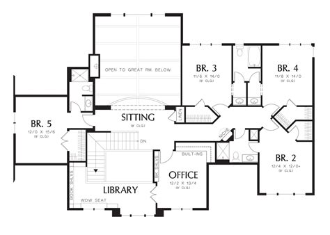 northeastern housing floor plans mascord house plan 2428c the winthrop