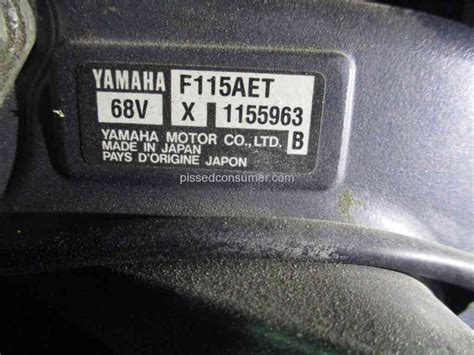 yamaha outboard motor dealers wisconsin 27 yamaha motor reviews and complaints pissed consumer