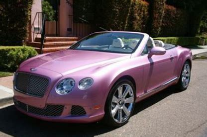 pink bentley convertible a metallic pink 2012 bentley ebay stories