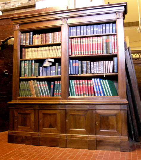 libreria antica antiche librerie marro boiseries e librerie