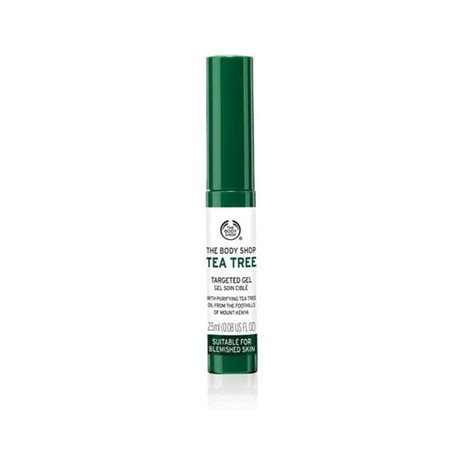 Tea Tree Gel The Shop tea tree targeted gel