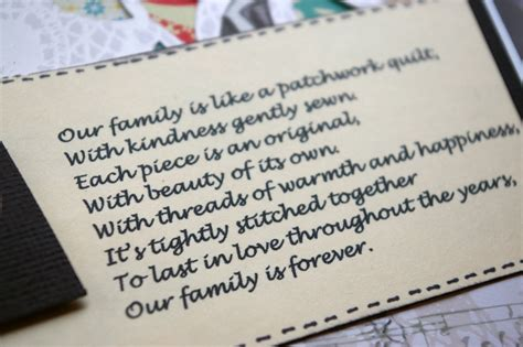Patchwork Poem - s cards ltd patchwork and poetry