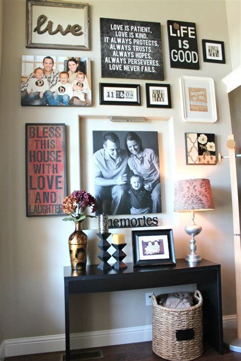 photos of home decor best 25 photo collage walls ideas on photo