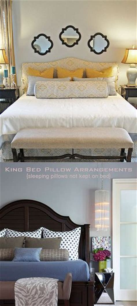 how to arrange pillows on king bed pillow arrangement king beds and pillows on pinterest